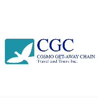 CGC Cosmo Get Away Chain Travel and Tours Inc. logo
