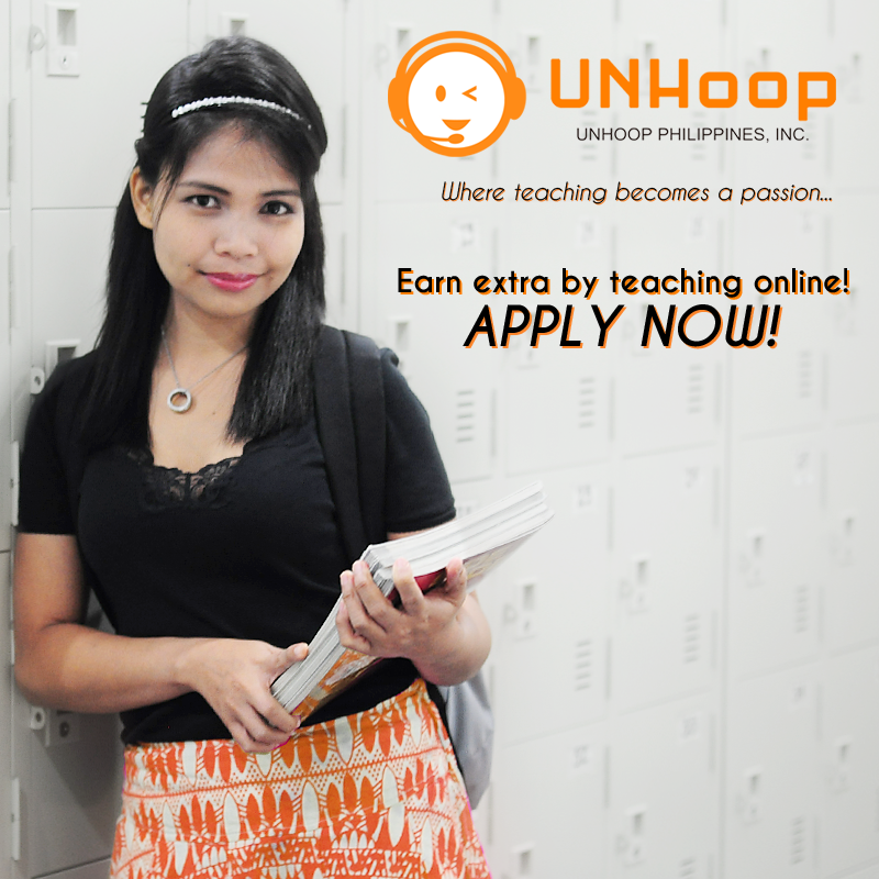 Home-based Online Tutors from UNHoop Philippines Inc.